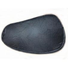 Шторка каркасная на присоске боковая 670x400mm косая.черная 2шт (Стрейч-я крупная сетка) K-91752